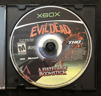 Evil Dead A Fistful of Boomstick — Disc Only! (Microsoft Xbox, 2003)