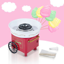 Electric Instant Candy Floss Maker Cotton Candy Machine DIY Household Red 450W