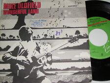 "7"" - Mike Oldfield - Wonderful Land & Sheba - 1981 German Diff. # 3855"