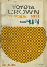 1967 TOYOTA CROWN DELUXE SEDAN ERSATZTEILKATALOG WERKSTATTHANDBUCH 93340-67