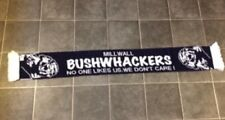 MILLWALL BUSHWACKERS HOOLIGAN FOOTBALL SCARF - NEW