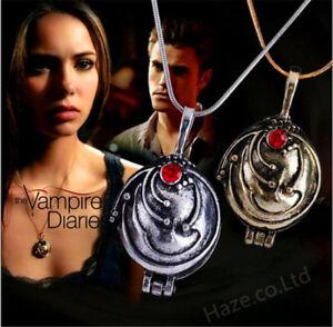 The Vampire Diaries Elena Vervain Pendant Necklace Jewelry Figure Toy New