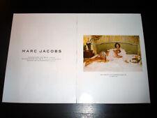 MARC JACOBS 2-Pg Magazine PRINT AD Spring 2004 CHARLOTTE RAMPLING juergen teller
