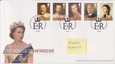 Tallents PMK GB Royal mail FDC 2012 HOUSE OF WINDSOR Set Timbro