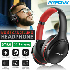 New listing Mpow H19 Ipo Active Noise Cancelling Headphones Bluetooth 5.0 Wireless Earphones