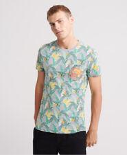 Superdry Mens Aop Pocket Lite T-Shirt