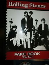 2005 Rolling Stones Fakebook 1963-71 430 Pg Book Nearly 200 Songs N.Mint/N.Mint