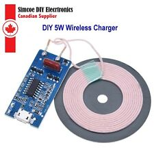 5V Wireless Power Supply Charging Module 5W-1A Quick DIY Charger Micro USB #1736