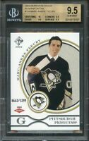 2003-04 private stock rr #134 MARC-ANDRE FLEURY (pop 7) BGS 9.5 (10 9.5 9.5 9.5)