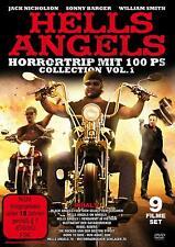 *FSK18* BOX Hells Angels Collection 9 Filme Rocker Gang On Wheels Run DVD Box