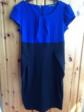Woman's Blue/Black Dress from George, Worn A un of times, Knee Length 12