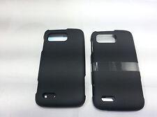LOT OF 2 Rocketfish Hard Shell Case for the Motorola Atrix 2 Black