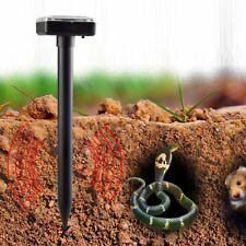 New listing New Ultrasonic Solar Powered Sonic Animal Repeller Outdoor Garden Rat Snake
