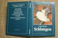 Fachbuch Schlangen, Vermehrung, Lebensraum Terrarium, Brut, DDR 1989