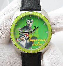 "KING JULIEN & MAURICE, ""Madagascar"",MEN'S CHARACTER WATCH,2012,L@@K"