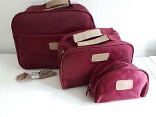 Reise Taschen Set 3 tlg dunkel rot