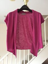 PER UNA AT MARKS AND SPENCER LADIES PINK SHRUG SIZE 12
