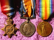 BRITISH WW1 87018 GUNNER PERCY BALMER ROYAL FIELD ARTILLERY MEDAL