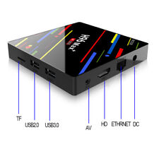 4K Smart TV BOX 4G+32G Android 8.1 Quad Core WIFI RK3328 Media Player