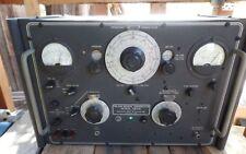 Rare!! Munston FM22E USA Vintage FM-AM Signal Generator S4-216 Ham Radio