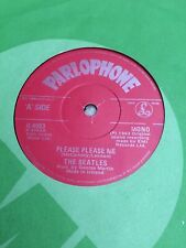 Beatles Please Please Me Red Parlophone Irish Solid Centre Pressing, Near Mint