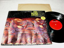 "Ten Wheel Drive w/ Genya Ravan ""Brief Replies"" 1970 Rock LP, VG, Orig Polydor"