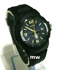 NEW Casio Men's Watch MW600F-2A 10 YEAR Battery 100M Black Resin Analog Quartz