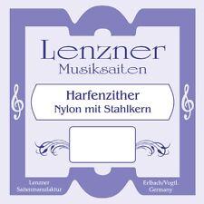 Zithersaiten Bass-Saitensatz Wiener St. Tonabnehmer Konzertzither Harfenzither