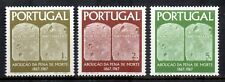 Portugal - 1967 Centenary of ending death-penalty Mi. 1046-48 MNH