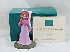 """WDCC """"Devoted Damsel"""" Maid Marian from Disney's Robin Hood in Box with COA"""
