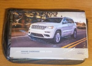 2018 JEEP GRAND CHEROKEE Owners Manual - SRT Overland Limited + Case BRAND NEW