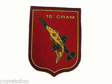 Patch 15° CRAM 15° Centro Radar Aeronautica Militare Italiana Stemma Stampata