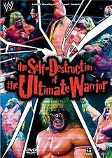 WWE: THE SELF DESTRUCTION OF THE ULTIMATE WARRIOR DVD *Wrestling