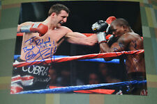 CARL FROCH & JERMAIN TAYLOR signed autograph  In Person BOXING CHAMPION 8x10