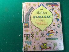 1944 The Golden Almanac, Dorothy A Bennett/Masha, 4th Printing