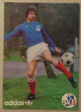 CHRISTIAN SYNAEGHEL ADIDAS FFF  carte postale postcard french football