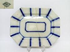 Bandeja de Porcelana San Juan Aznalfarache Epoca RAMON RODRIGUEZ  c.1865  S.XIX