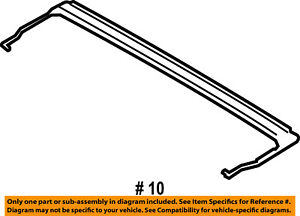 FORD OEM Sunroof-Drip Channel FL3Z1654022A