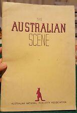 THE AUSTRALIAN SCENE,1948 1st issue, Rare Australian Photographs,Publicity Book
