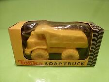TONKA THOUGH SOAP TRUCK TURBO DIESEL - YELLOW - GOOD IN BOX
