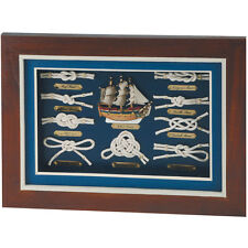 Quadro nodi marinari , per l'arredamento della casa - Misure : 36x26 cm