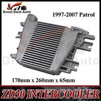 Upgrade Intercooler fits for Nissan 97-07 ZD30 Patrol GU Y61 3.0L TD Top Mount