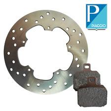 Kit freno posteriore disco pastiglie originale Piaggio Beverly 56498R - 647076