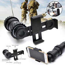 Rifle Scope Tactical Telescope Mounting Hunting Camera Adapter Cell Phone Holder