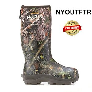 Dryshod NOSHO Women's Hi Cut Camo Boot Muck Style MBM-WH-CM