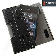 GENUINE GRIFFIN IPHONE 4 & 4S ELAN HOLSTER CASE COVER | BLACK