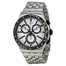 Swatch Armbanduhr mit Stoppfunktion