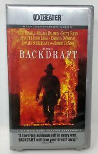 Backdraft D-VHS HD Video Movie DVHS Digital Theater Back Draft Kurt Russell