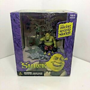 Shrek With Oozing Swamp Sludge Figure, The Swamp Bath boxed