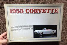 CHEVROLET CORVETTE 1/24 MODEL KIT MONOGRAM / BANDAI JAPAN